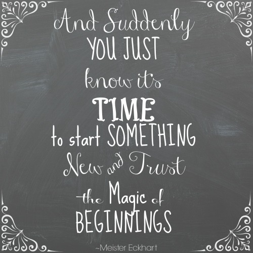 New Beginnings Quotes (2017) ~ Best Quotes and Sayings